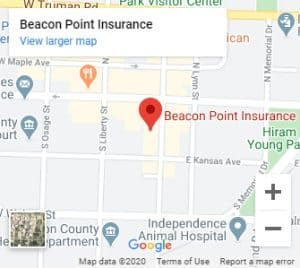 Beacon Point Insurance Location Map